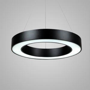 LEDペンダントライト 照明器具 リビング照明 店舗照明 オシャレ照明 円形 黒色 LED対応