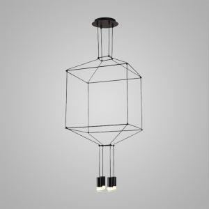 LEDペンダントライト 照明器具 リビング照明 店舗照明 オシャレ照明 個性的 LED対応 4灯