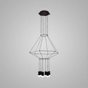 LEDペンダントライト 照明器具 リビング照明 店舗照明 オシャレ照明 個性的 LED対応 6灯