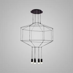 LEDペンダントライト 照明器具 リビング照明 店舗照明 オシャレ照明 個性的 LED対応 8灯