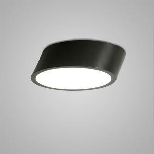 LEDシーリングライト 照明器具 天井照明 リビング用 寝室用 おしゃれ 黒白色 LED対応 H13cm