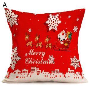クッションカバー クリスマスシリーズ 抱き枕カバー 枕カバー Merry Christmas ギフト DP32481