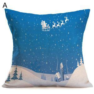 クッションカバー クリスマスシリーズ 抱き枕カバー 枕カバー Merry Christmas ギフト DP32486