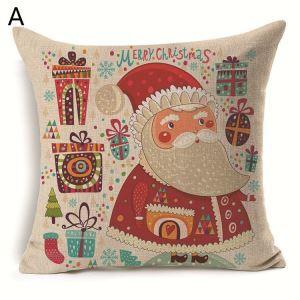 クッションカバー クリスマスシリーズ 抱き枕カバー 枕カバー Merry Christmas ギフト DP33504