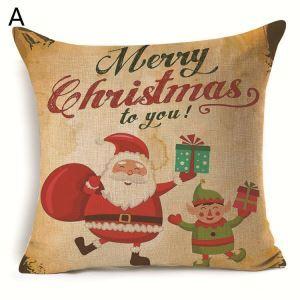 クッションカバー クリスマスシリーズ 抱き枕カバー 枕カバー Merry Christmas ギフト DP33505