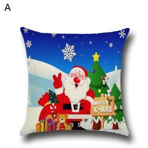 クッションカバー クリスマスシリーズ 抱き枕カバー 枕カバー Merry Christmas ギフト DP35573