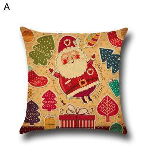 クッションカバー クリスマスシリーズ 抱き枕カバー 枕カバー Merry Christmas ギフト DP35574