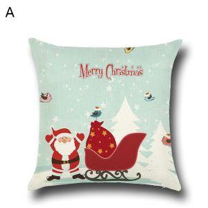 クッションカバー クリスマスシリーズ 抱き枕カバー 枕カバー Merry Christmas ギフト DP35575