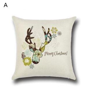 クッションカバー クリスマスシリーズ 抱き枕カバー 枕カバー Merry Christmas ギフト DP35582