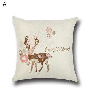 クッションカバー クリスマスシリーズ 抱き枕カバー 枕カバー Merry Christmas ギフト DP35586