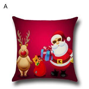 クッションカバー クリスマスシリーズ 抱き枕カバー 枕カバー Merry Christmas ギフト DP35591
