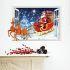 3Dウォールステッカー 転写式ステッカー PVCシール シート 剥がせる 立体DIY クリスマスシリーズ WS06700