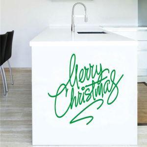 ウォールステッカー 転写式ステッカー PVCシール シート 剥がせる 平面DIY クリスマスシリーズ WS06746