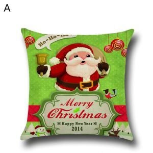 クッションカバー クリスマスシリーズ 抱き枕カバー 枕カバー Merry Christmas ギフト DP35577