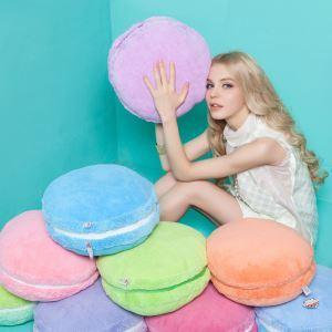 マカロンクッション ぬいぐるみ 抱き枕 腰まくら 飾り物 Macaron フランス風 彩り 創意的 プレゼント DP27001