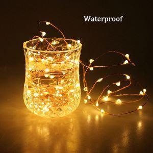 LEDイルミネーションライト LEDストリングライト 蛍型照明 防水 40灯 パーティー 祝日飾り