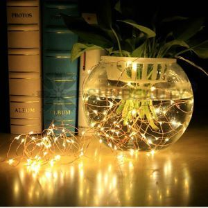 LEDイルミネーションライト LEDストリングライト 照明器具 防水 電池式 パーティー 祝日飾り