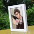 写真立て フォトフレーム 写真用額縁 インテリアフレーム フォトデコレーション 木製 1枚 6色