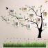 壁掛けフォトフレーム 写真用額縁 インテリアフレーム フォトデコレーション 木製 10枚セット 複数枚 ツリー