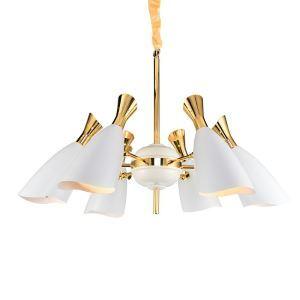 シャンデリア 天井照明 照明器具 店舗照明 ダイニング照明 北欧風 12灯 黒/白色
