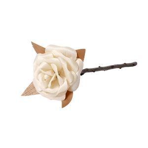 バラ作り DIY造花テクニック 鉋くず製 手作り 永遠 LOVE 結婚祝い/贈り物/お誕生日に RS001