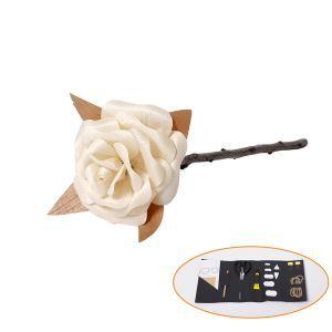 バラ作り DIY造花テクニック 鉋くず製 手作り 永遠 LOVE 製作工具付 結婚祝い/贈り物/お誕生日に RS002