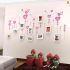 壁掛けフォトフレーム 写真用額縁 インテリアフレーム フォトデコレーション 木製 10枚セット 複数枚 花