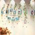 壁掛けフォトフレーム 写真用額縁 インテリアフレーム フォトデコレーション 木製 9枚セット 複数枚 田園風