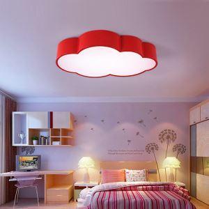 LEDシーリングライト 照明器具 天井照明 リビング 居間 子供屋 オシャレ 雲型 4色 LED対応