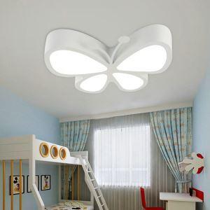 LEDシーリングライト 照明器具 天井照明 リビング 居間 子供屋 オシャレ 蝶型 5色 LED対応