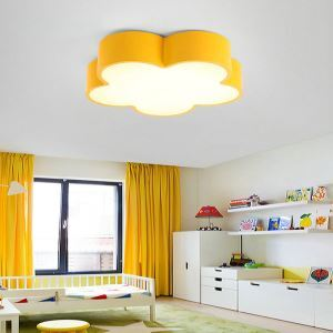 LEDシーリングライト 照明器具 天井照明 リビング 居間 子供屋 オシャレ 花型 5色 LED対応