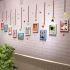 壁掛けフォトフレーム 写真用額縁 インテリアフレーム フォトデコレーション 木製 10枚セット 複数枚 漫画