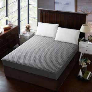 ボックスシーツ ベッドシーツ マットレスカバー ベッド用品 単品 四季 灰色 180*200cm B4002