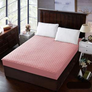 ボックスシーツ ベッドシーツ マットレスカバー ベッド用品 単品 四季 ピンク 180*200cm B4004