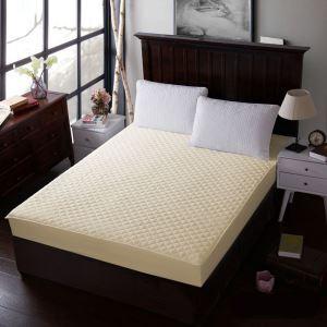ボックスシーツ ベッドシーツ マットレスカバー ベッド用品 単品 四季 黄色 200*220cm B4012
