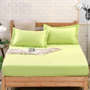 ボックスシーツ ベッドシーツ マットレスカバー ベッド用品 単品 純綿 150*200cm B4023