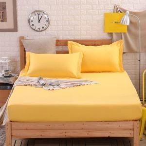 ボックスシーツ ベッドシーツ マットレスカバー ベッド用品 単品 純綿 150*200cm B4024