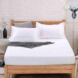 ボックスシーツ ベッドシーツ マットレスカバー ベッド用品 単品 純綿 180*200cm B4027