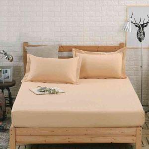 ボックスシーツ ベッドシーツ マットレスカバー ベッド用品 単品 純綿 180*200cm B4030