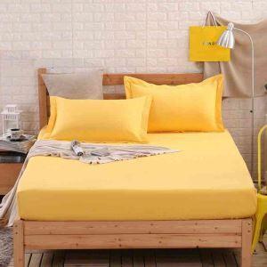 ボックスシーツ ベッドシーツ マットレスカバー ベッド用品 単品 純綿 180*200cm B4032