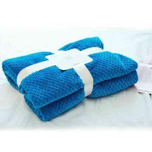 毛布 ブランケット ベッドシーツ フランネル毛布 ソファー毛布 純色 オシャレ 7色 180*200cm