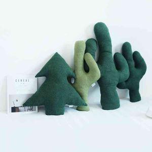 ぬいぐるみ クッション 抱き枕 腰枕 杉とサボテン プレゼント 4点セット