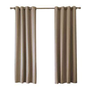 遮光カーテン 無地柄 カーテン 遮熱 防炎 北欧風 オシャレ お得サイズ グロメット式(1枚) WC05013