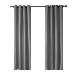 遮光カーテン 無地柄 カーテン 遮熱 防炎 北欧風 オシャレ お得サイズ グロメット式(1枚) WC05025