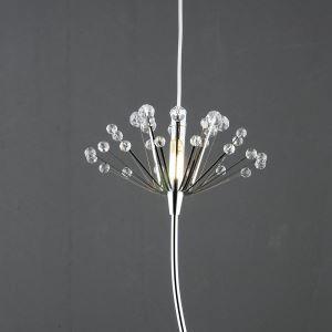 ペンダントライト 照明器具 天井照明 玄関照明 オシャレ照明 クリスタル タンポポ型 1灯