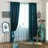 シアーカーテン オーダーカーテン UVカット 春気味 刺繍 レースカーテン(1枚)