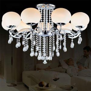 シャンデリア 照明器具 天井照明 リビング照明 寝室 店舗 オシャレ 9灯