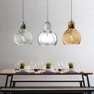 ペンダントライト 照明器具 店舗照明 リビング照明 食卓照明 ガラス製 オシャレ 3灯