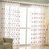 レースカーテン オーダーカーテン UVカット 花柄 刺繍 オシャレ シアーカーテン(1枚)