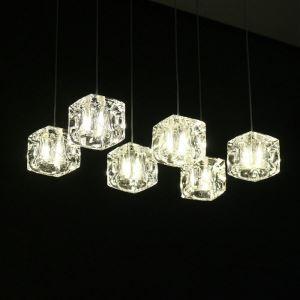 【送料無料】LEDペンダントライト 照明器具 天井照明 玄関照明 クリスタル照明 1灯 HL010 翌日発送